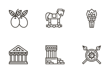 Greece Icon Pack