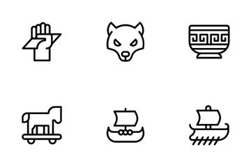 Greek Mythology Icon Pack