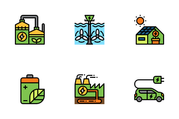 Green Energy Icon Pack