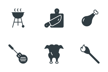 Grill And Barbecue  Icon Pack