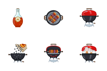 Grill & BBQ Icon Pack