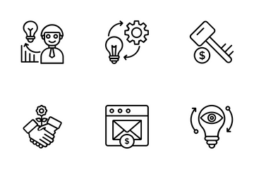 Growth HackiGrowth Hackingng Icon Pack
