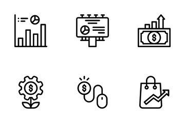 Growth Marketing Icon Pack