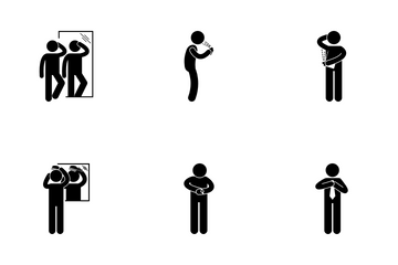 Guy Dressing Icon Pack