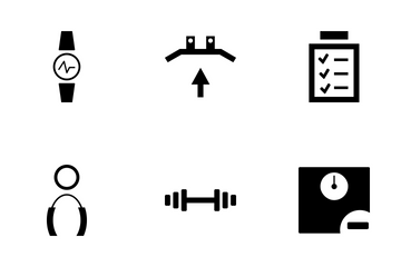 Gym And Fitness Icon Pack
