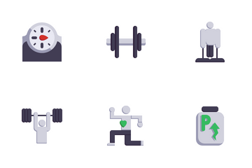 Gym Tool And Equipment 1.0 Icon Pack