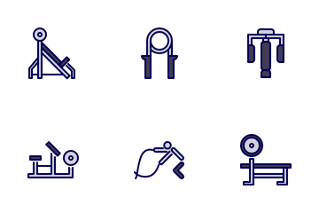 Gym Tool And Equipment 1.1 Icon Pack