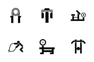 Gym Tool And Equipment 1.2 Icon Pack