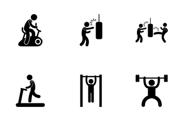 Gym Workout Icon Pack
