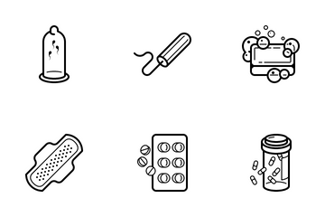Gynaecology Icon Pack