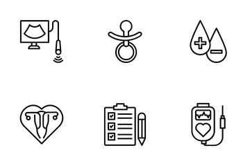 Gynecology Icon Pack