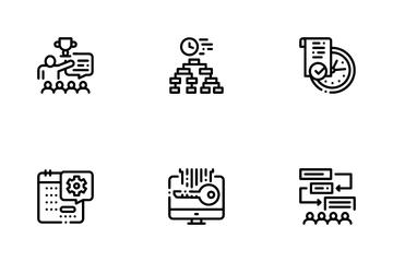 Hackathon Development Icon Pack