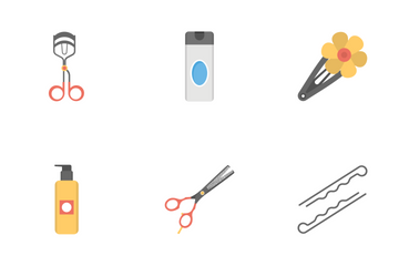 Hair Saloon  Icon Pack