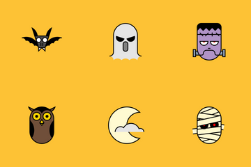 Halloweeeen Icon Pack