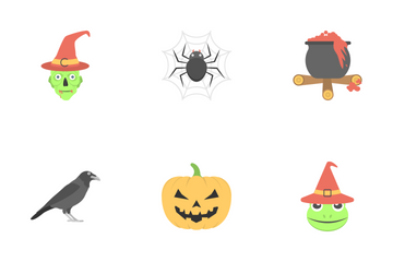 Halloween 1 Icon Pack