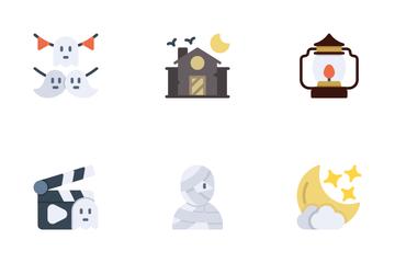 Halloween Activities Icon Pack