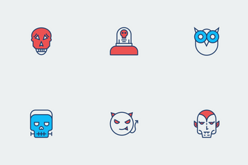 Halloween Color Vol 1 Icon Pack