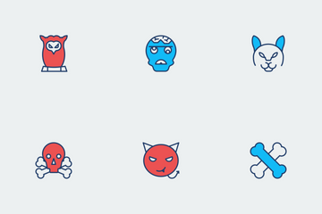 Halloween Color Vol 2 Icon Pack