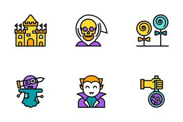 Halloween Elements Icon Pack