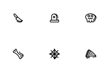 Halloween Ghost Icon Pack