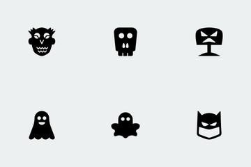 Halloween Glyphs Vol 1 Icon Pack