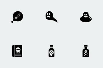 Halloween Glyphs Vol 2 Icon Pack