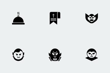 Halloween Glyphs Vol 3 Icon Pack