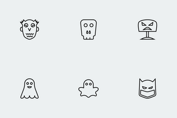 Halloween Line Vol 1 Icon Pack