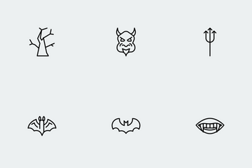 Halloween Line Vol 2 Icon Pack