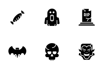 Halloween (Solid) Vol.1 Icon Pack