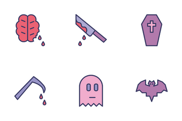 Halloween Spooky Icon Pack