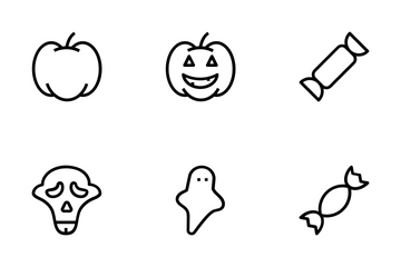 Halloween Vector Icons Icon Pack