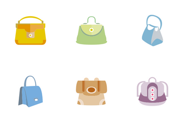 Hand Bag 3 Icon Pack