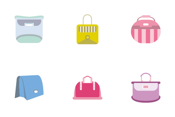 Hand Bag 4 Icon Pack