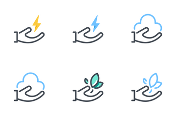 Hand Care Pack Icon Pack