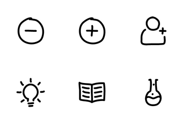 Hand Drawn Basic Icon Pack