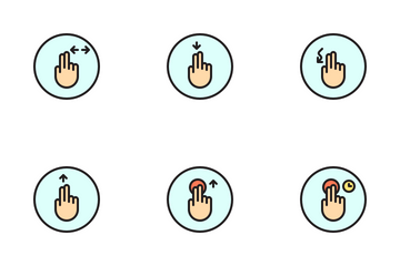 Hand Gesture Icon Pack