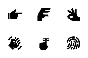 Hand Gestures  Icon Pack