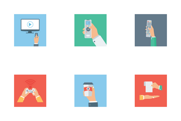 Hand Holding  Icon Pack
