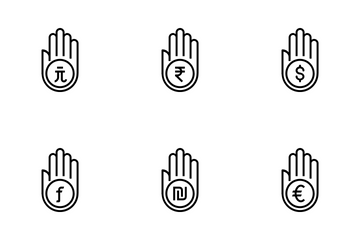 Hand Line Icon Pack