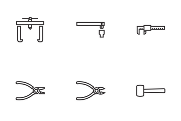 Hand Tools Icon Pack