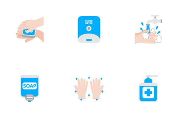 Hand Wash Icon Pack
