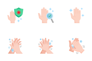 Hand Washing Icon Pack