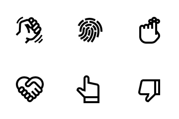 Hands Icon Pack