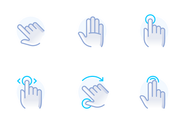 Hands & Gestures (Bubblico) Icon Pack