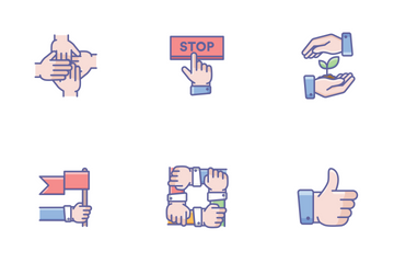 Hands Icons Icon Pack