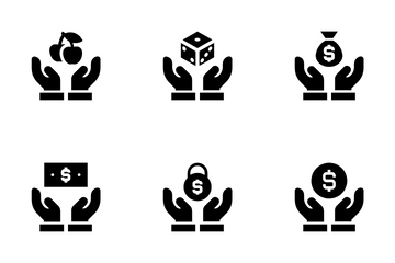 Hands Support Icon Pack