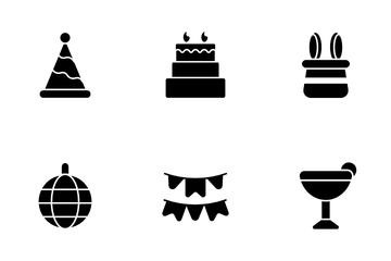 Happy Birthday Icon Pack