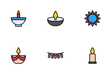 Happy Diwali Icon Pack