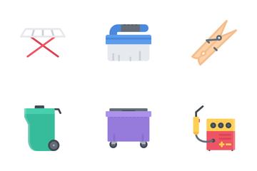 Hard Work Flat Icon Pack